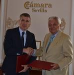 Wolters Kluwer y la Cámara de Comercio de Sevilla firman un acuerdo de colaboración