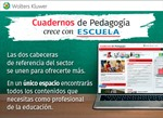 Wolters Kluwer integra Periódico ESCUELA en Cuadernos de Pedagogía