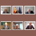 Con la intervención del ministro de Justicia, Juan Carlos Campo