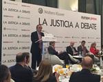 La Justicia, a debate