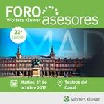 Wolters Kluwer celebrará el 23º Foro Asesores el próximo 31 de octubre en Madrid
