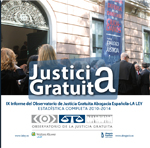 La inversión en Justicia Gratuita sube un leve 1,5 por ciento en 2014 por el impacto de las tasas y el aumento de benefi...