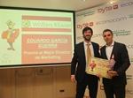 Eduardo García Guerra recibe el Premio Byte TI 2017 al Mejor Director de Marketing